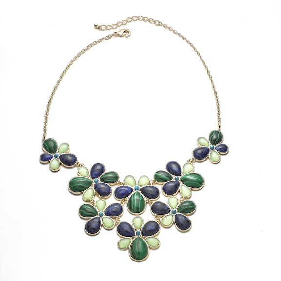 couture inspired greens st patricks day Charter Club Necklace, $48.50, Macys.com