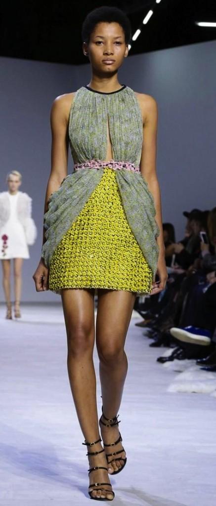 couture inspired greens st patricks day Giambattista Valli SS 2016 Couture Collection, Giambattistavalli.com