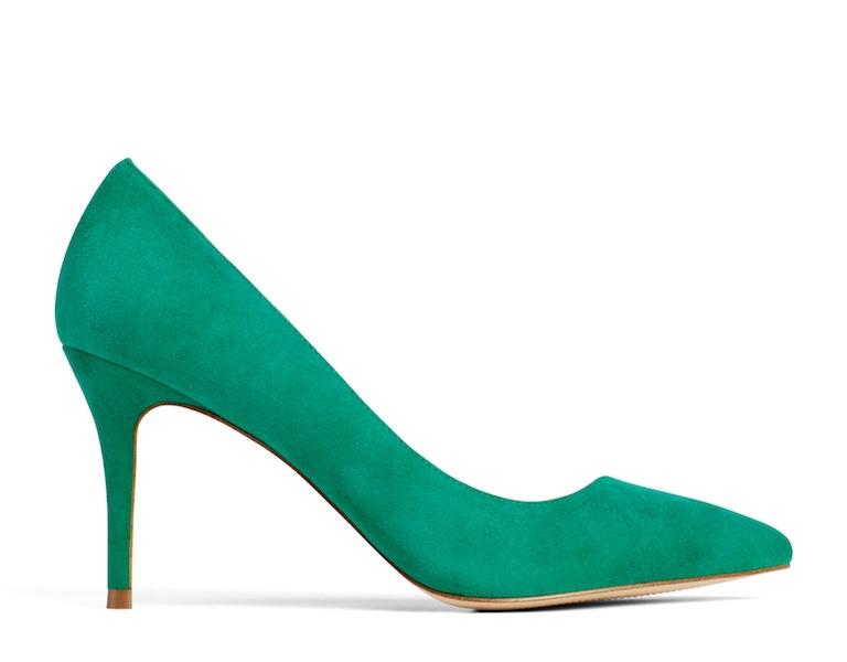couture inspired greens st patricks day ALDO Kediredda Pump, $95, Aldoshoes.com
