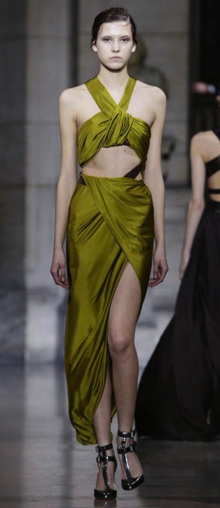 couture inspired greens st patricks day Yiqing Yin SS 2016 Couture Collection, Yiqingyin.com