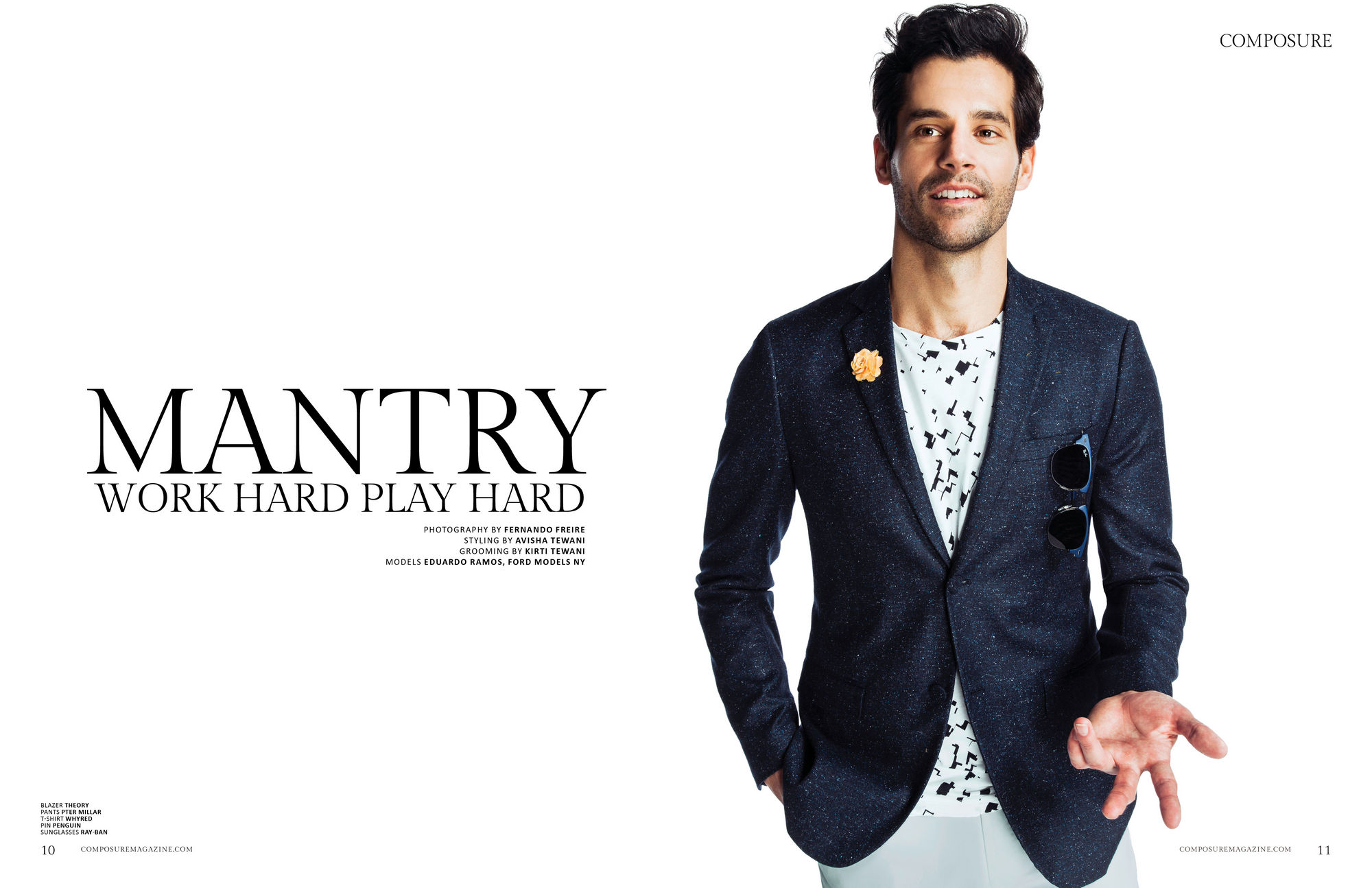 """Mantry"" Fashion Editorial by Fernando Freire"