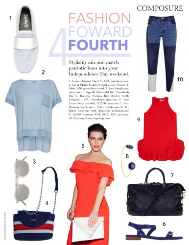 fashion forward fourth: 4th of july fashion
