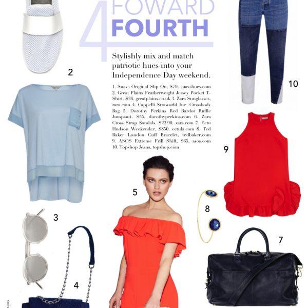 fashion forward fourth: 4th of july fashion