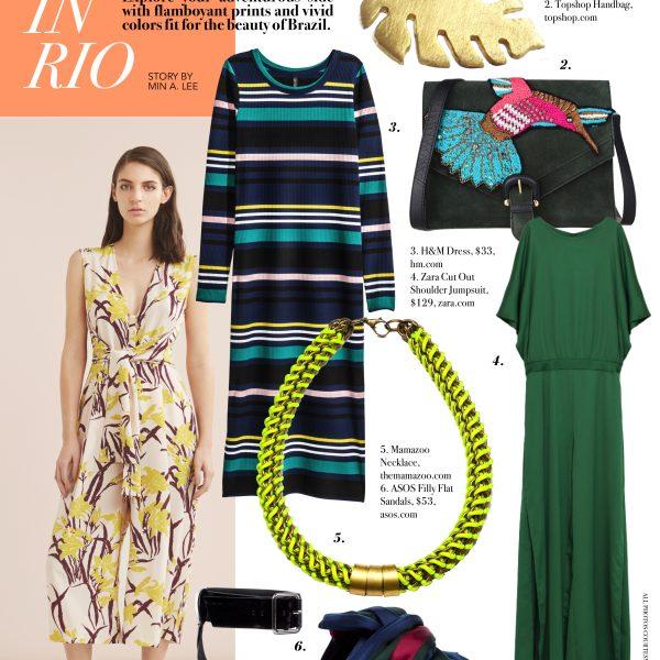 When in Rio Composure magazine Brazil inspired fashion