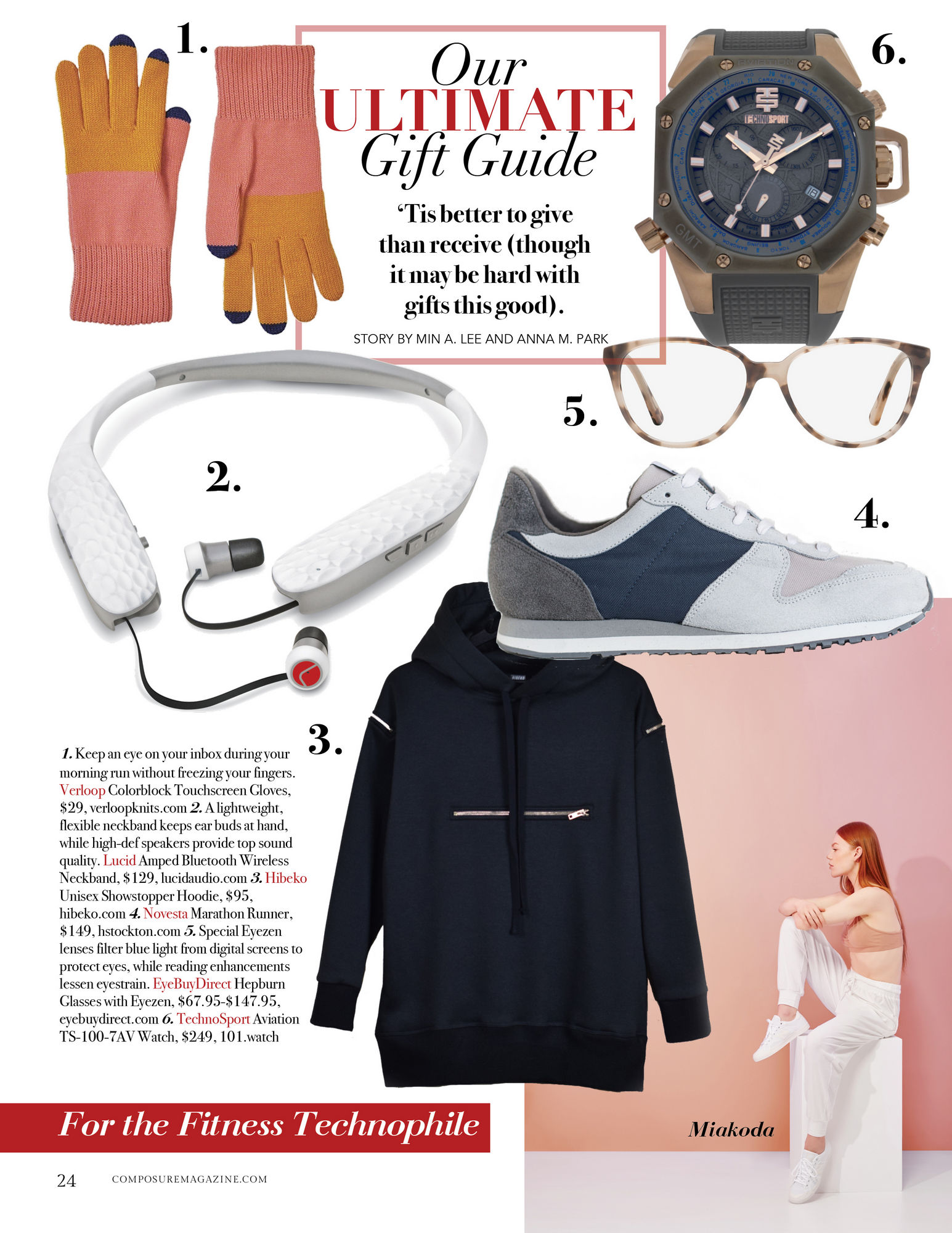Our ULTIMATE Gift Guide: For the Fitness Technophile